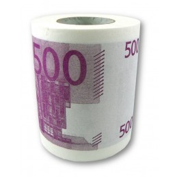 Euros en papel higienico,...