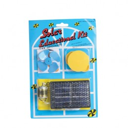 Kit educativo de energía solar.