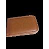 Tarjetero de bolsillo con tapas en polipiel.