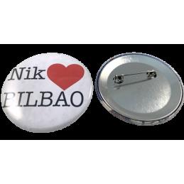 Souvenir chapas Bilbao (Nik...