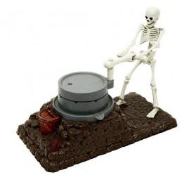 La hucha del esqueleto...
