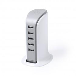 Cargador USB de 600 mA.