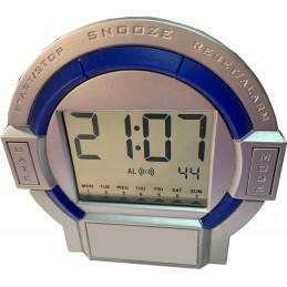 Reloj de sobremesa de diseño.