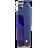Encendedor de gas semitransparente. Electrónico y recargable. (Caja de 50 unidades)