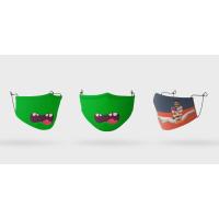 Mascarillas lavables y personalizables.